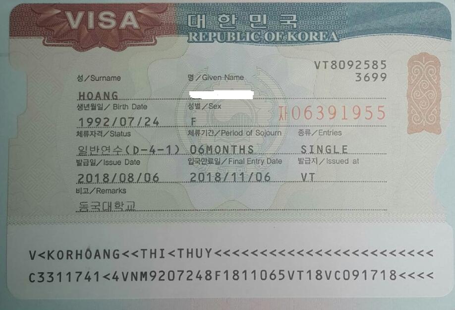 Visa D4-1