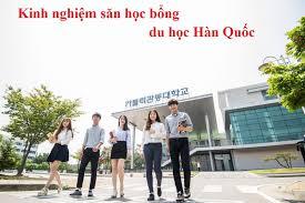 Kinh nghiệm du học Hàn Quốc để lãnh học bổng cao