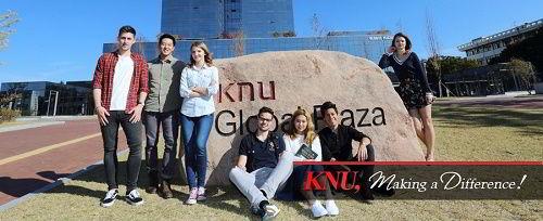 Sinh viên quốc tế tại đại học quốc gia Kyungpook