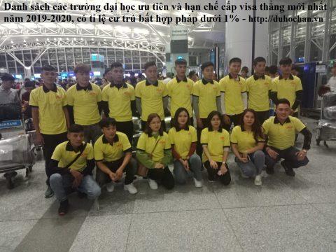 Du học sinh Hàn Quốc đi trường ưu tiên của duhochan.vn