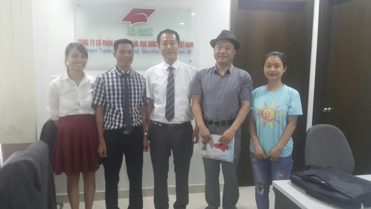 Du học Hàn Quốc uy tín Tajako - ký kết hợp tác