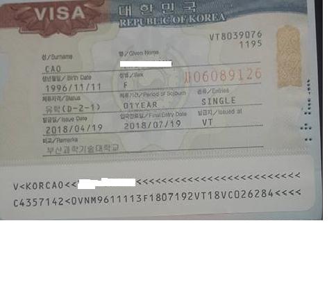 Visa D2 Hàn Quốc-tajako