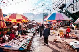 Việc làm thêm ở chợ tại Hàn Quốc
