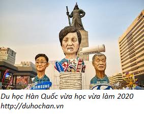 Du học Hàn Quốc vừa học vừa làm năm 2020
