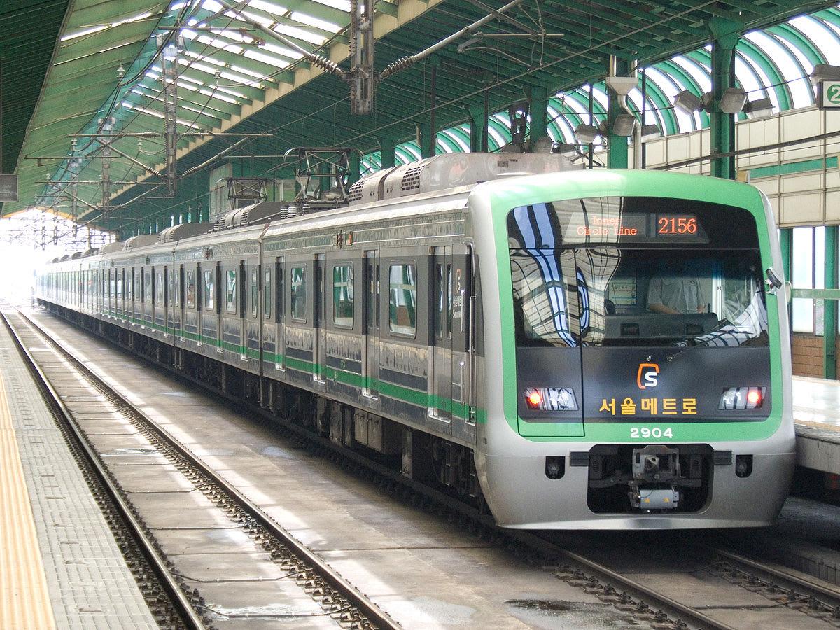 Chi phí đi lại tàu điện ngầm tại Hàn Quốc