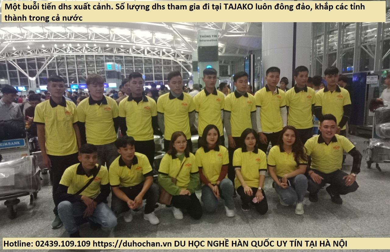 Du học sinh Hàn Quốc tham gia tại TAJAKO thuộc rất nhiều tỉnh thành